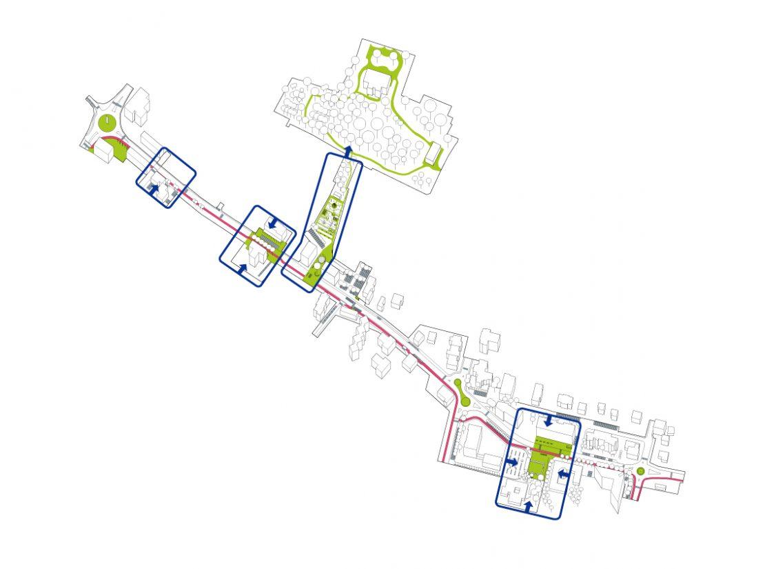 viviamo il viale concorso merate Architettura